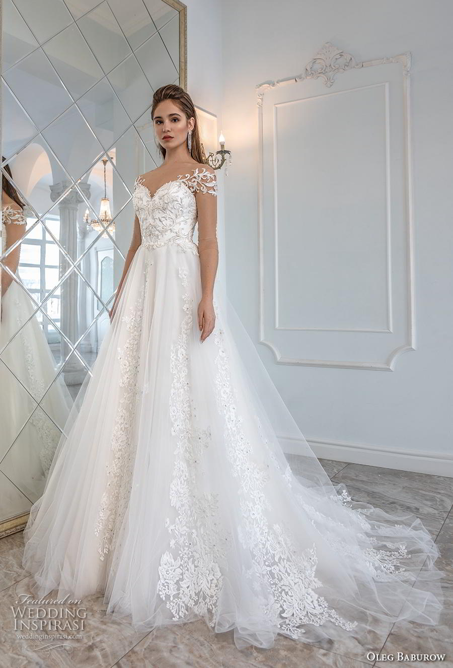 Oleg Baburow 2019 robes de mariée