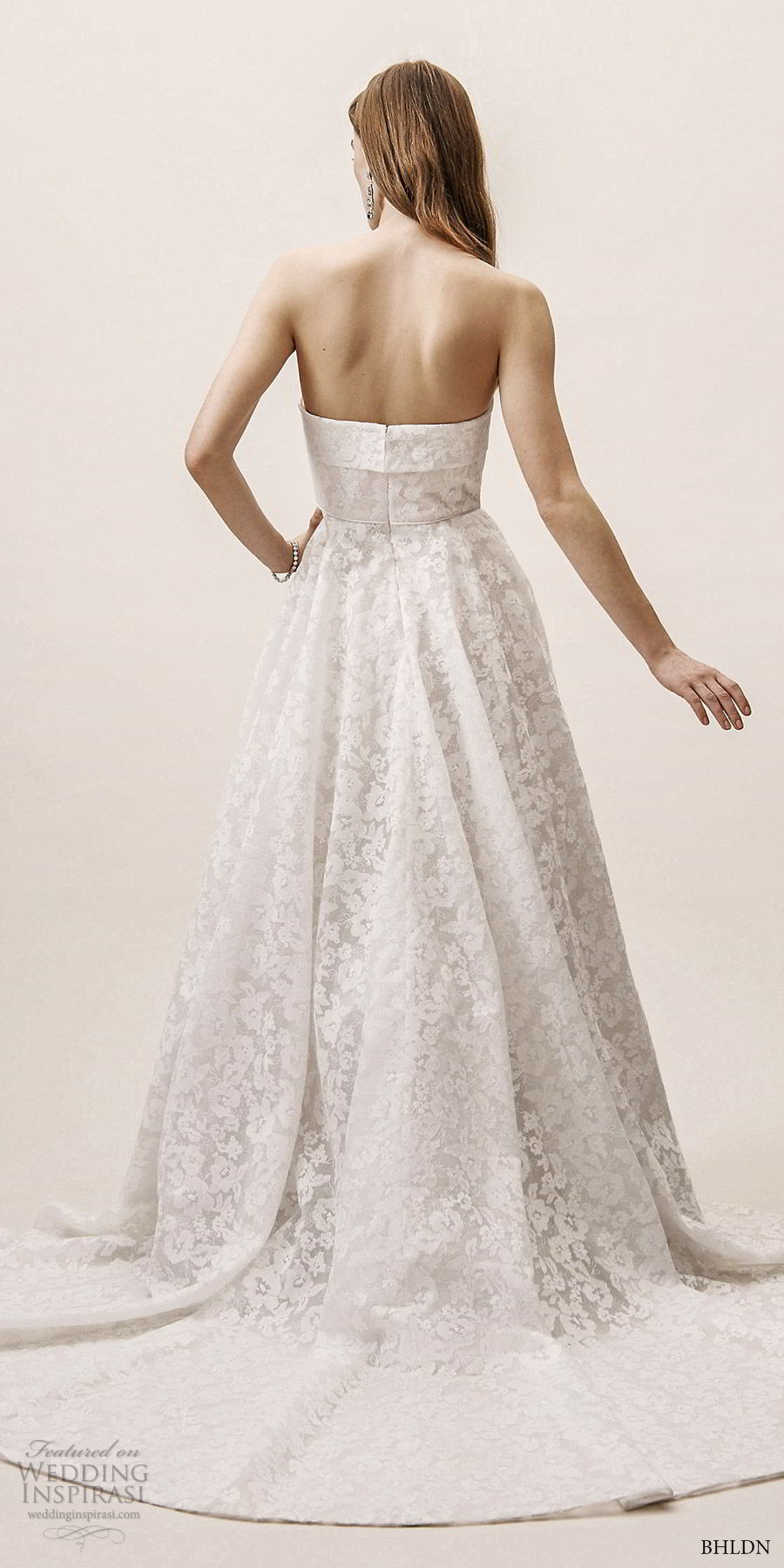Robes de mariée de printemps 2019 de BHLDN sans effort chic